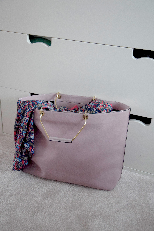 Rosa väska - Sanna Fischer - Metro Mode 84b14fd884b21