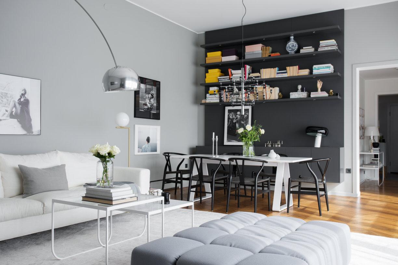 Inspiration vardagsrum - Sanna Fischer - Metro Mode